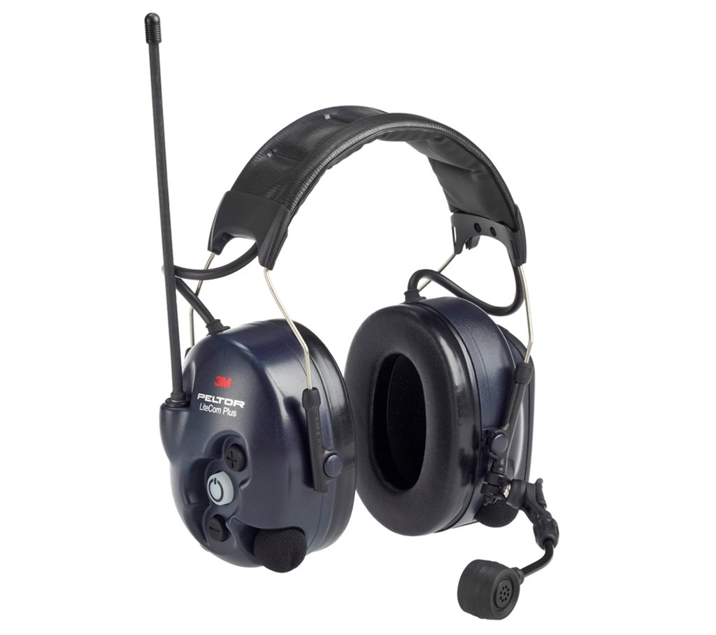 MT7H7A4410-EU LiteCom PLUS Headband Headset with 446 and Active Listening